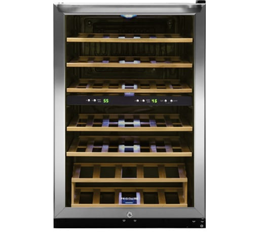 FRIGIDAIRE FFWC3822QS 38 Bottle Two-Zone Wine Cooler