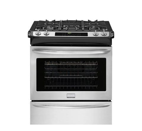 FRIGIDAIRE FGGS3065PF Gallery 30'' Slide-In Gas Range