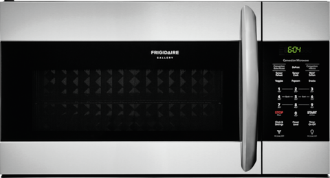 FRIGIDAIRE FGMV155CTF Gallery 1.5 Cu. Ft. Over-The-Range Microwave with Convection