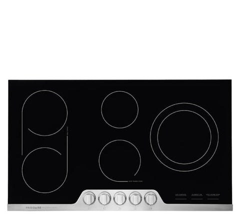 FRIGIDAIRE Professional FPEC3677RF 36'' Electric Cooktop - Stainless Steel/Black