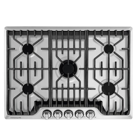 FRIGIDAIRE Professional FPGC3077RS 30'' Gas Cooktop with Griddle - Stainless Steel