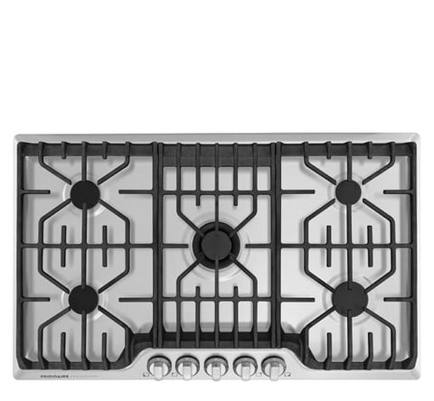FRIGIDAIRE Professional FPGC3677RS 36'' Gas Cooktop with Griddle - Stainless Steel