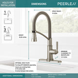 PEERLESS P7924LF WESTCHESTER™ Single-Handle Commercial Style Kitchen Faucet