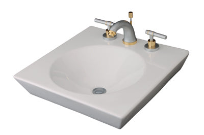 FV E249-BL Rossini Top Mount Lavatory - White