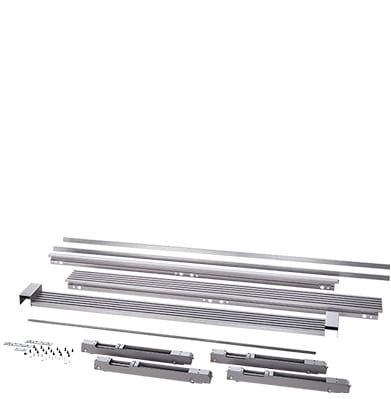 ELECTROLUX TRIMKITSS2 79'' Louvered or 75'' Collar Dual Stainless Steel Trim Kit