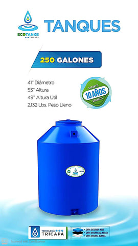 ECOTANKE  Three Layer Water Tank