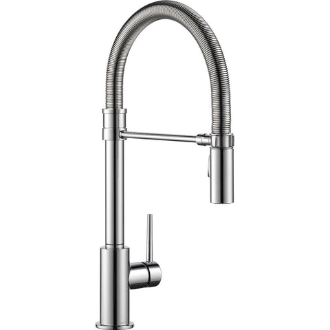 Delta 9659-DST Single Handle Pull-Down Kitchen Faucet