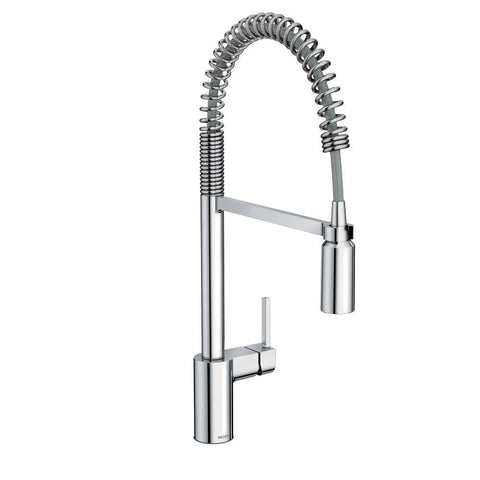 MOEN 5923 Align Pre-Rinse Spring Pulldown Kitchen Faucet