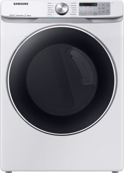 SAMSUNG DVE45R6300W/A3  7.5 cu. ft. Smart Electric Dryer White