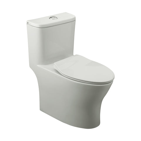 FV E186 Oslo One-Piece Toilet - White