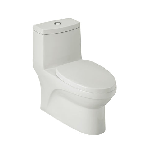 FV E192 Trani Dual Flush One Piece Toilet - White