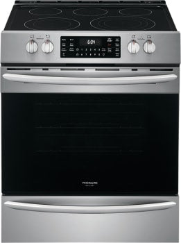 FRIGIDAIRE Gallery FGEH3047VF 30'' Front Control Electric Range with Air Fry