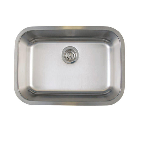 "A/Sink 31"" X 18"" Undermount Single Bowl Sink"