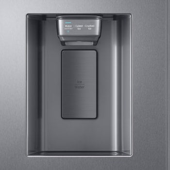 SAMSUNG 27.4 cu. ft. Large Capacity Side-by-Side Refrigerator in Stainless Steel
