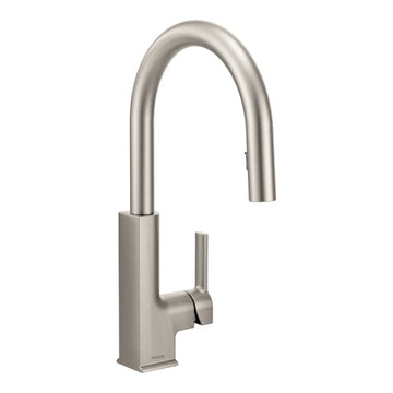 MOEN S72308 STo Chrome One-Handle Pulldown Kitchen Faucet