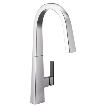 MOEN S75005 Nio Chrome One-Handle Pulldown Kitchen Faucet