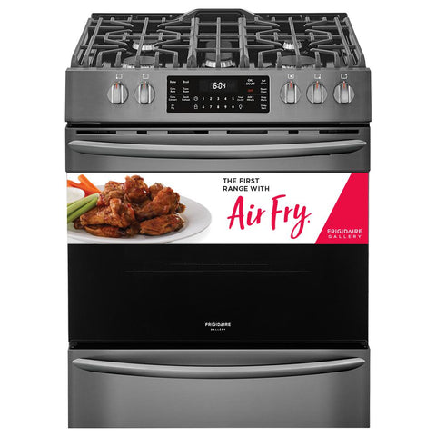 FRIGIDAIRE Gallery FGGH3047VD 30'' Front Control Gas Range with Air Fry