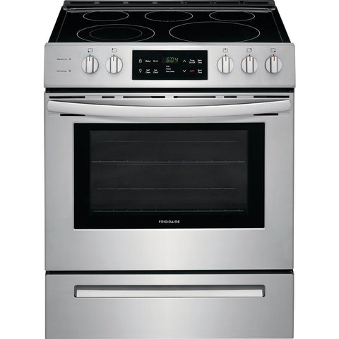FRIGIDAIRE FFEH3054US 30'' Front Control Freestanding Electric Range