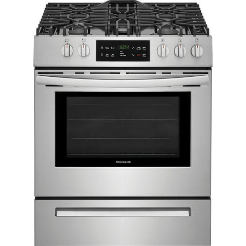 FRIGIDAIRE FFGH3054US 30'' Front Control Freestanding Gas Range