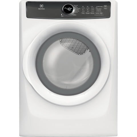 Electrolux EFME427UIW Front Load Perfect Steam™ Electric Dryer with 7 cycles - 8.0 Cu. Ft
