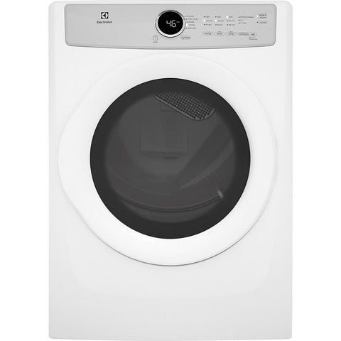 Electrolux EFDG317TIW 8.0 cu. ft. Gas Dryer in White, ENERGY STAR