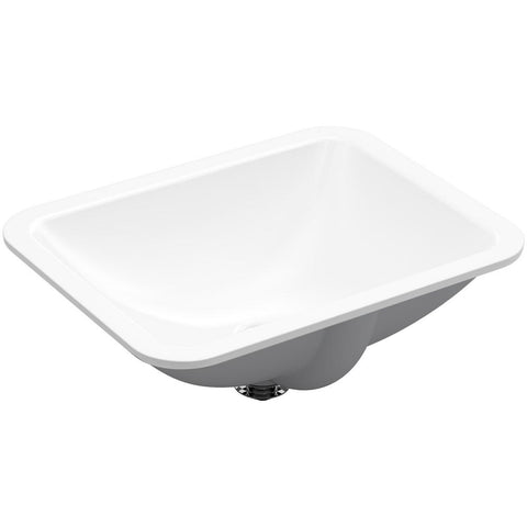 KOHLER K-20000 Caxton® Rectangle under-mount bathroom sink