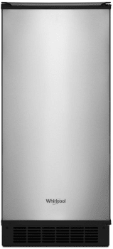 WHIRLPOOL  WUI75X15HZ 15-inch Icemaker with Clear Ice Technology