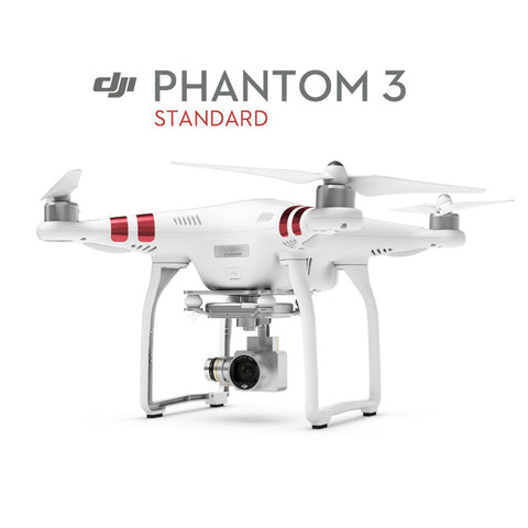 The DJI Phantom 3 Standard Quad-copter