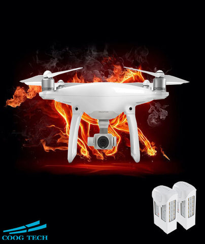 DJI Phantom 4 Quadcopter with Extra Battery4K Camera and 3-Axis Gimbal for Drones Photographer