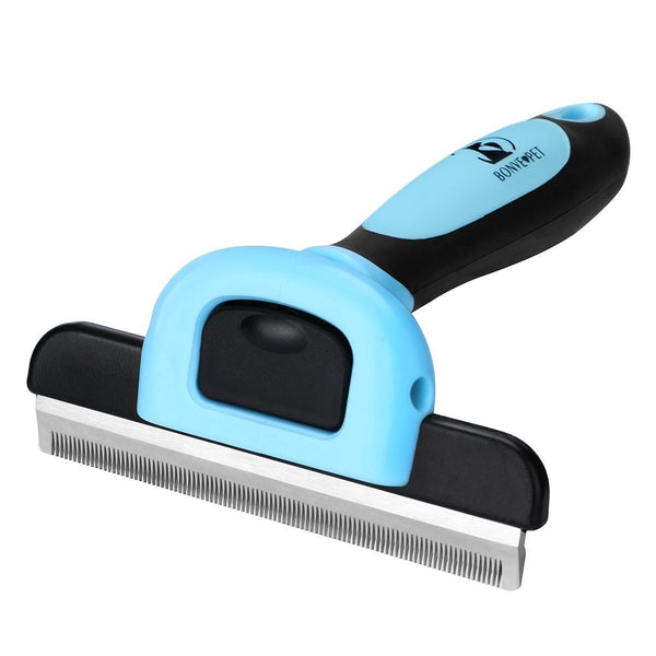 Dog Brush - Professional Pet Cat Dog Grooming Brush - Effectively Pet Deshedding Brush - Reduces Shedding Up to 95% Best Dog Hair Brush for Small Large Dogs Cats Pets Long Short Hair