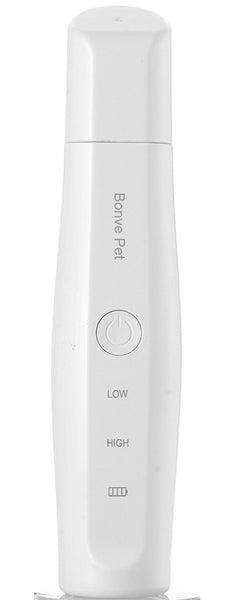 Bonve Pet Dog Nail Grinder - 2 Speed Electric Cat Pet Nail Clippers Trimmer - USB Charging and 3 Ports Best Nail Grooming Tool For Small Medium Large Cats Dogs Pets Paws Smoothing