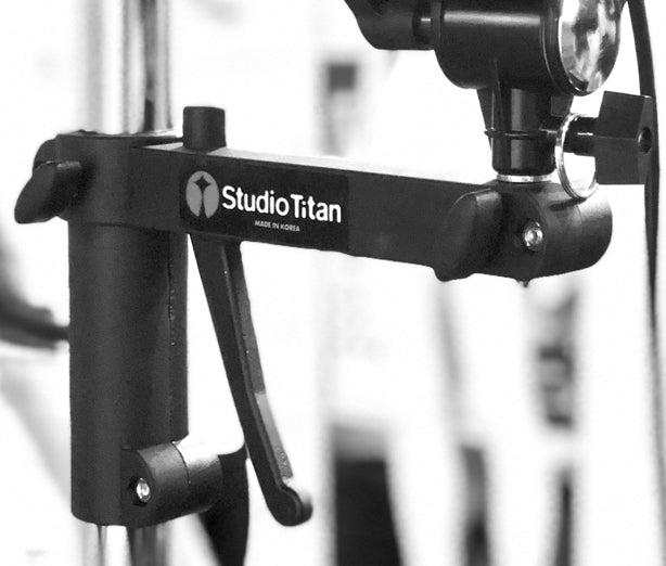 Studio Camera Stand Portable Side Kick 3-section STA-06-093D with Dual Pistol Grip
