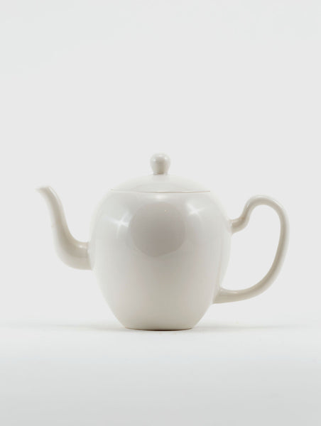 Graceful Porcelain Teapot