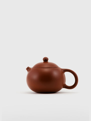 Small Red Clay Classic Teapot