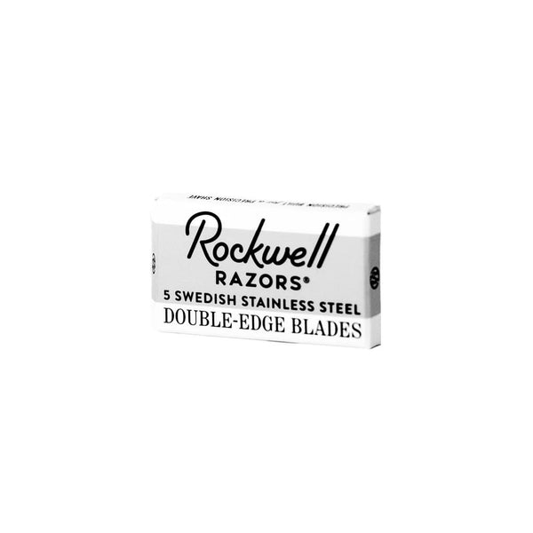 ROCKWELL DOUBLE-EDGE RAZOR BLADES - 5-PACK