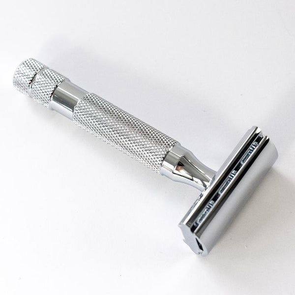 ROCKWELL 2C RAZOR - WHITE CHROME - Prohibition Style