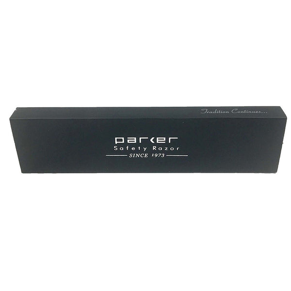 PARKER SRX STAINLESS STEEL HEAVYWEIGHT CLIP TYPE STRAIGHT BARBER RAZOR