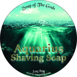 Van Yulay - Aquarius Shaving Soap 3 oz (multiple Scents) - Prohibition Style