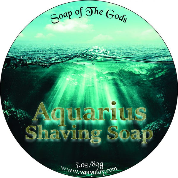 Van Yulay - Aquarius Shaving Soap 3 oz (multiple Scents)