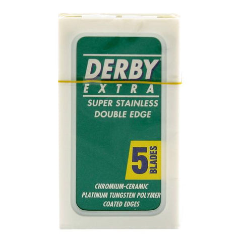 Derby Extra Razor Blades 5 Pack - Prohibition Style