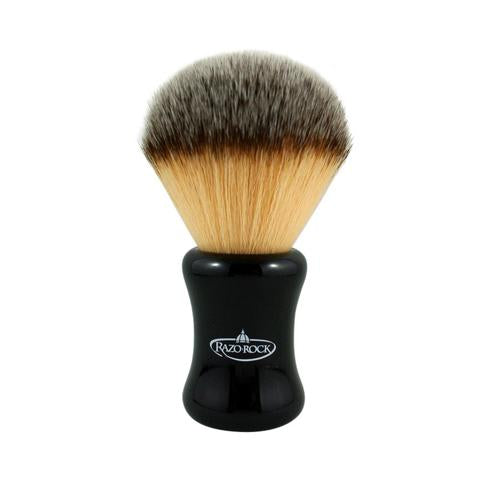 RazoRock Plissoft BIG BRUCE Synthetic Shaving Brush - Prohibition Style