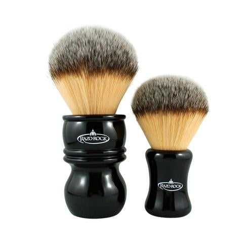 RazoRock THE HULK Plissoft Synthetic Shaving Brush - Prohibition Style