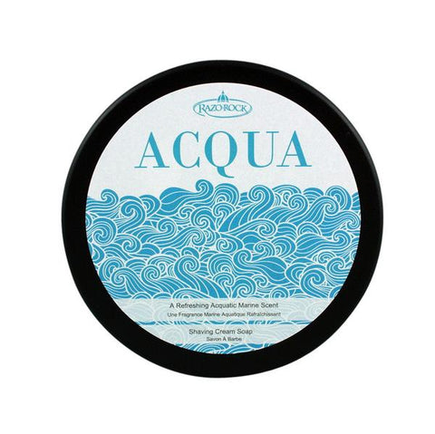 RazoRock Acqua Shaving Cream Soap - Prohibition Style