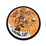 "RazoRock ""What The Puck?!"" Shaving Soap - Orange Sunrise - Prohibition Style"