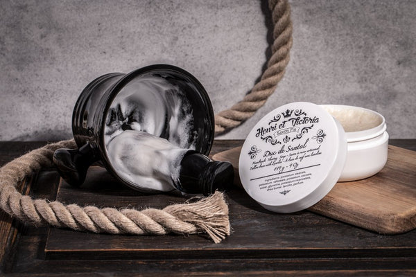 Henri Et Victoria - Duc de Santal - Shaving Soap 4oz