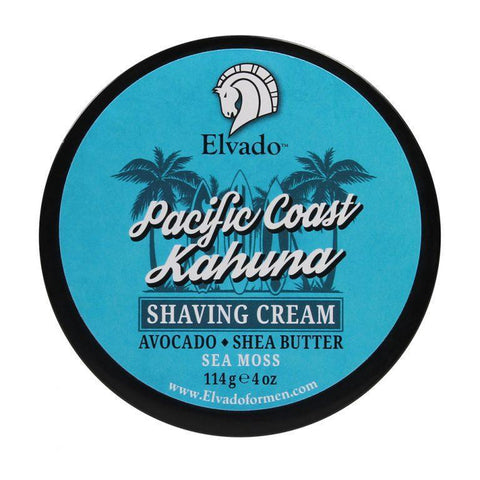 Elvado - Pacific Coast Kahuna Shaving Cream, 4oz - Prohibition Style