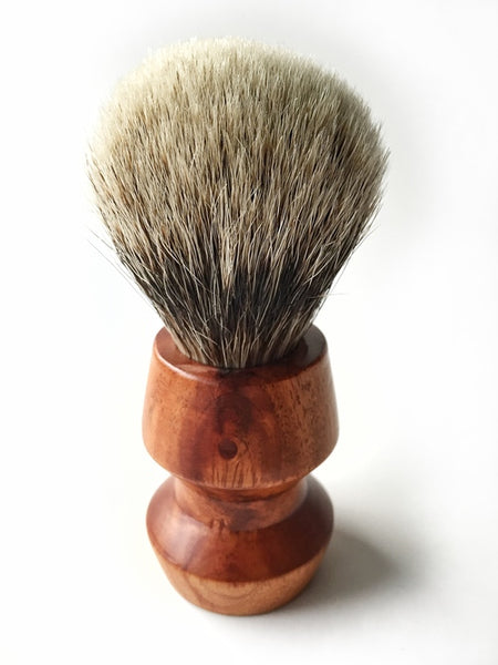 Paragon - Two Band Finest Badger 25mm - Paragon Handle Shaving Brush - Prohibition Style