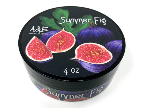 Ariana and Evans -  Summer Fig Shaving Soap - Prohibition Style