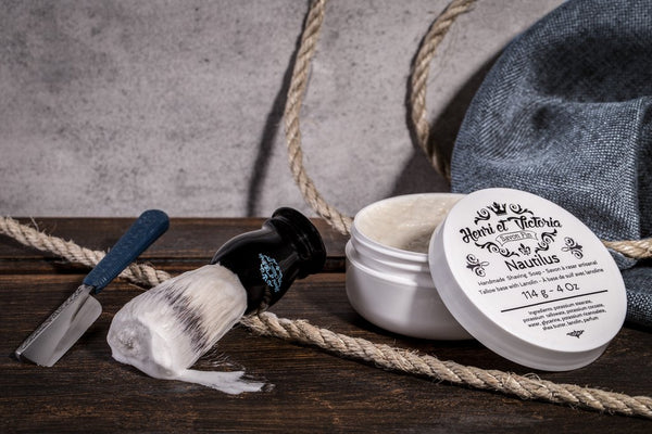 Henri Et Victoria - Nautilus - Shaving Soap 4oz - Prohibition Style
