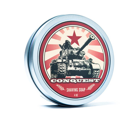 DR. JON'S CONQUEST NATURAL VEGAN SHAVING SOAP VOL. 2 - Prohibition Style